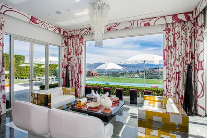 Lounge room with a view.