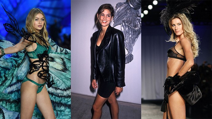 cindy crawford gisele gigi hadid supermodels rejected career