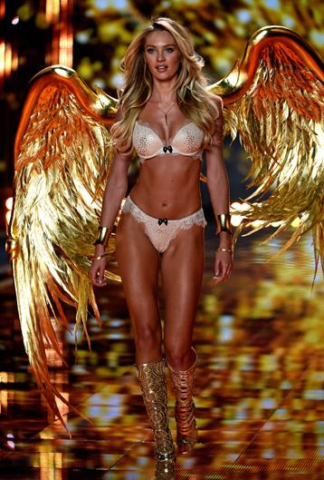 Name: Candice Swanepoel Age: 28 Nationality: South African Number of Victoria's Secret shows walked: 9 Made an Angel in: 2010