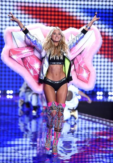 Name: Elsa Hosk Age: 27 Nationality: Swedish Number of Victoria's Secret shows walked: 4 Made an Angel in: 2015