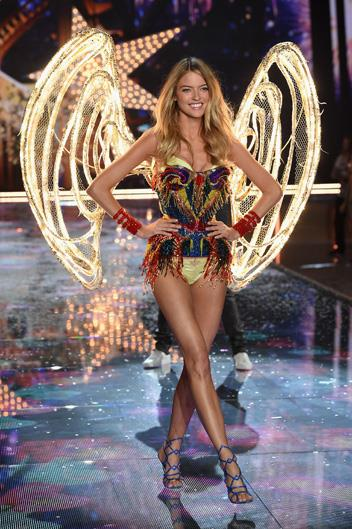 Name: Martha Hunt Age: 27 Nationality: American Number of Victoria's Secret shows walked: 3 Made an Angel in: 2015