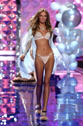 Name: Romee Strijd Age: 21 Nationality: Dutch Number of Victoria's Secret shows walked: 2 Made an Angel in: 2015