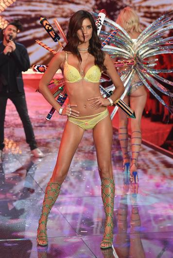 Name: Sara Sampaio Age: 25 Nationality: Portugese Number of Victoria's Secret shows walked: 3 Made an Angel in: 2015