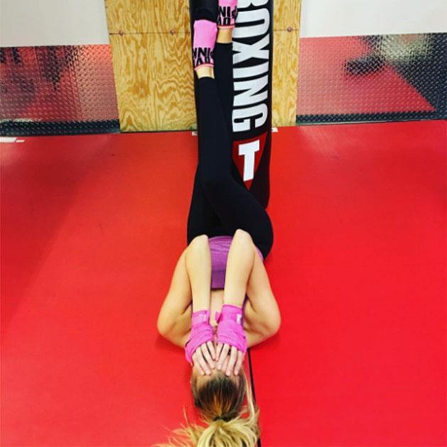 "Rachel Hilbert <br><br> Uploading back-to-back workout pics, it's clear this VS model is taking her job seriously. <br><br> Instagram: <a href=""https://www.instagram.com/p/BL_q-sjBQD8/?taken-by=rachelhilbert"">@rachelhilbert</a>"