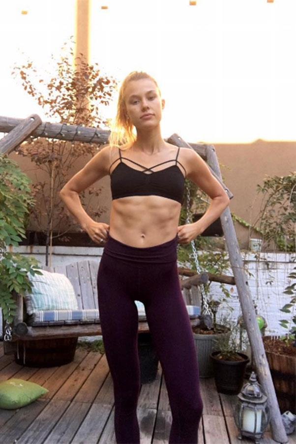 """Keke Lindgard <br><br> Lindgard's workouts of choice are boxing and pilates. With those abs, she must be doing something right! <Br><Br> Instagram: <a href=""""https://www.instagram.com/p/BKqL-LXhIxf/?taken-by=kekelindgard"""">@kekelindgard</a>"""