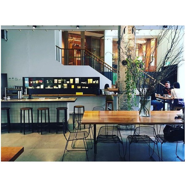 """<strong><a href=""""http://www.paramountcoffeeproject.com.au/"""">Paramount Coffee Project</a></strong> <br><br> <strong>Location:</strong> Surry Hills <br><br> With an innovative menu and a minimalist interior, this is a hidden gem in Surry Hills' breakfast bracket situated just above the Golden Age cinema. <br><br> <a href=""""https://www.instagram.com/p/BKrJ1BxAApg/   """">@paramountcoffeesydney</a>"""