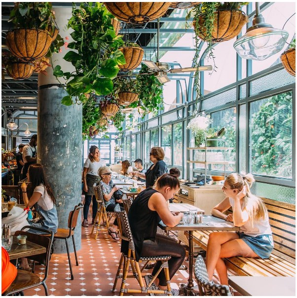 """<strong><a href=""""http://flowerchildcafe.com.au/"""">Flower Child</a></strong> <br><br> <strong>Location:</strong> Chatswood <br><br> Another garden escape, Flower Child brings their delicate floral delights to the menu as well, with dishes topped with petals. AKA this is an ideal 'gram in the making. <br><br> <a href=""""https://www.instagram.com/p/BB3cYhUGqox/   """">@flowerchildcafe</a>"""