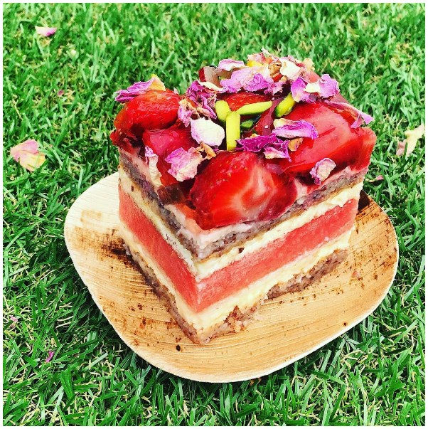 """<strong><a href=""""www.blackstarpastry.com.au"""">Black Star Pastry</a></strong> <br><br> <strong>Location:</strong> Newtown <br><br> You need to go here just to taste the ultimate in dessert: their strawberry watermelon cake with rose-scented cream. Yes, it does taste as good as it sounds. <br><br> <a href=""""https://www.instagram.com/blackstarpastry/"""">@blackstarpastry</a>"""