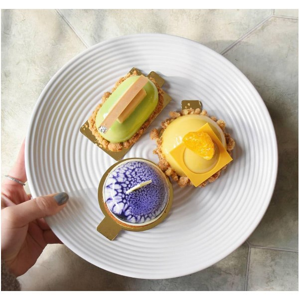 """<strong><a href=""""http://www.textbookpatisserie.com.au/"""">Textbook Patisserie</a></strong> <br><br> <strong>Location:</strong> Alexandria <br><br> If you're a lover of sweet things, head directly to the Textbook patisserie for the most gorgeous baked-goods you'll ever see. <br><br> <a href=""""https://www.instagram.com/textbookpatisserie/"""">@textbookpatisserie</a>"""