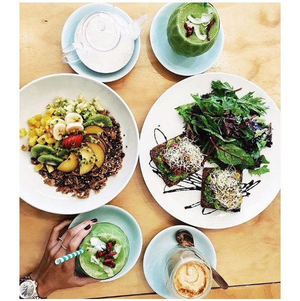 """<strong><a href=""""http://www.sadhanakitchen.com/"""">Sadhana Kitchen</a></strong> <br><br> <strong>Location:</strong> Bondi and Enmore <br><br> For the lovers of quality ingredients and unique twists on the standard brunch fare, head to Sadhana for an organic feast. <br><br> <a href=""""https://www.instagram.com/sadhanakitchen/"""">@sadhanakitchen</a>"""