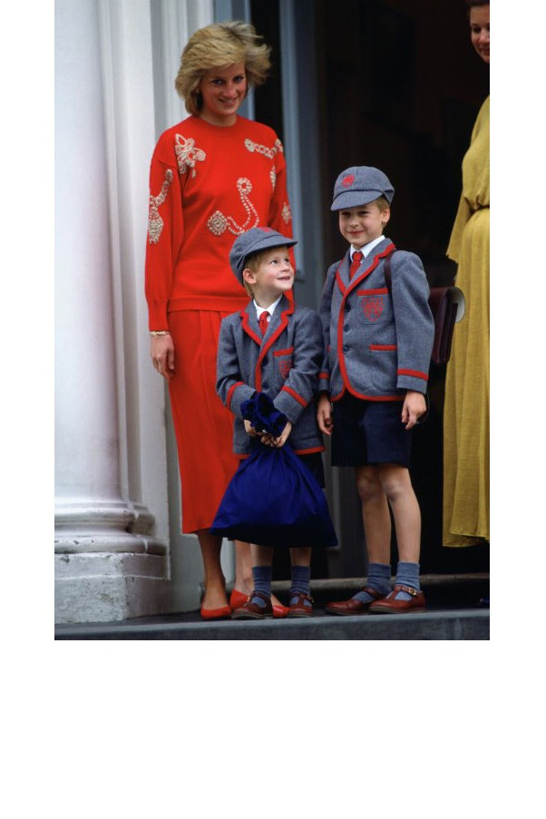 "<strong>5. She Sent Her Boys To School</strong> <br><br> At his mother's insistence, William became the first heir to the throne to attend public school — at Jane Mynor's nursery school near Kensington Palace. ""The decision to have William, 3, develop his finger-painting skills among commoners showed the influence of Diana, Princess of Wales, who had worked in a nursery school herself when she was just a Lady,"" George Hackett <a href=""http://www.newsweek.com/princess-diana-diana-william-harry-prince-william-prince-harry-royal-family-383384"">wrote</a> in Newsweek in 1985."