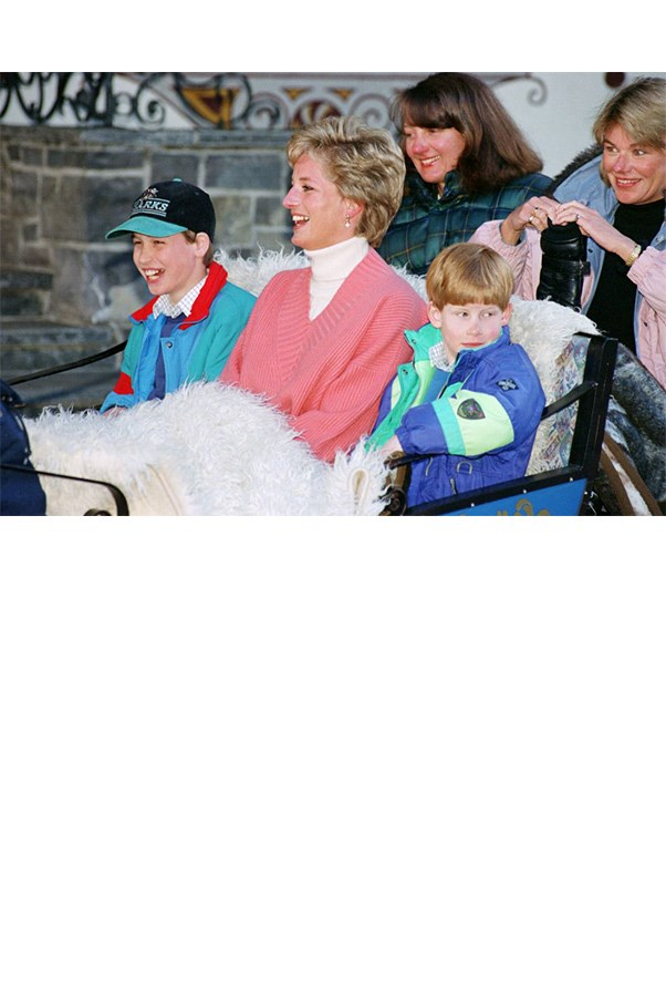 "<strong>6. She Exposed Her Kids To A Non-Royal Way Of Life</strong> <br><br> It wasn't just school where she rebelled against the constraints of royal childhood. Diana took the boys to get hamburgers at McDonald's, rode the tube and the bus, and let them wear jeans and baseball caps; they white-water rafted and rode bicycles. At Disney, they stood in line like everyone else. <br><br> She also took them to hospitals and homeless shelters. ""She very much wanted to get us to see the rawness of real life,"" William told ABC News' Katie Couric in 2012. ""And I can't thank her enough for that, 'cause reality bites in a big way, and it was one of the biggest lessons I learned is, just how lucky and privileged so many of us are — particularly myself."""