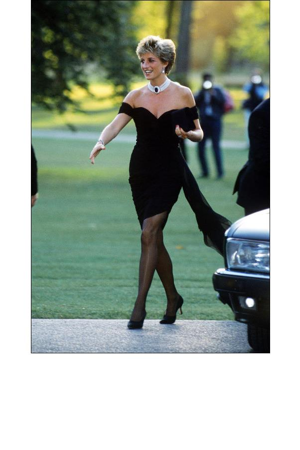 "<strong>7. She Understood The Power Of Fashion</strong> <br><br> No longer ""Shy Di""! In 1994, while a documentary about Prince Charles' infidelity was airing, the leggy Princess Diana donned a clingy rushed mini dress for a Serpentine Gallery benefit. The next day, she stole the newspaper headlines with her confident look (one which certainly broke the queen's dress code)."