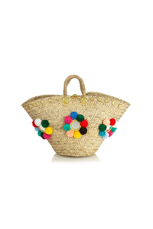 """<strong>A beach bag</strong><br><br> The single-season trend: Take the straw tote to its logical conclusion with an incredible embellished iteration.<br><br> Buy: Muzungu Sisters tote, $601, <a href=""""http://www.matchesfashion.com/au/products/1040291"""">Matches Fashion</a>"""