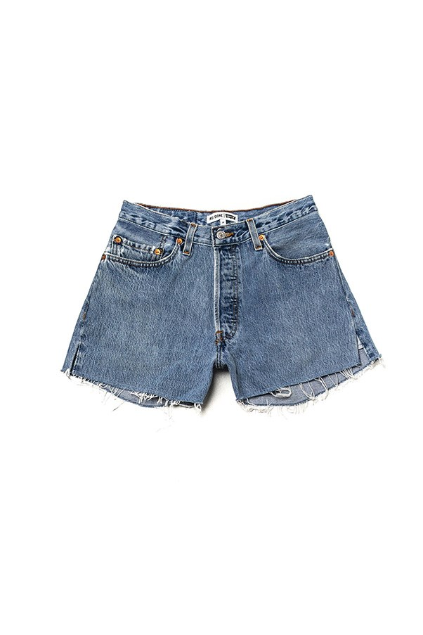 """<strong>Summertime denim</strong><br><br> The classic: Nothing says 'summer' like the perfect pair of denim cut-offs. Be careful with your length - Daisy Duke is not your role model in this instance.<br><br> Buy: Denim shorts by RE/Done, $230, <a href=""""https://shopredone.com/products/no-23hrs1352161nd"""">Re/Done</a>"""