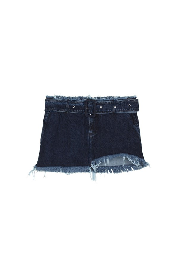 """<strong>Summertime denim</strong><br><br> The single season trend: Have you heard? The 2000s are back. Celebrate with a low-rise denim mini-skirt with plenty of frayed edging.<br><br> Buy: Marques' Almeida mini skirt, $339.50, <a href=""""https://www.mychameleon.com.au/belted-denim-mini-skirt-p-4544.html?typemf=women"""">My Chameleon</a>"""