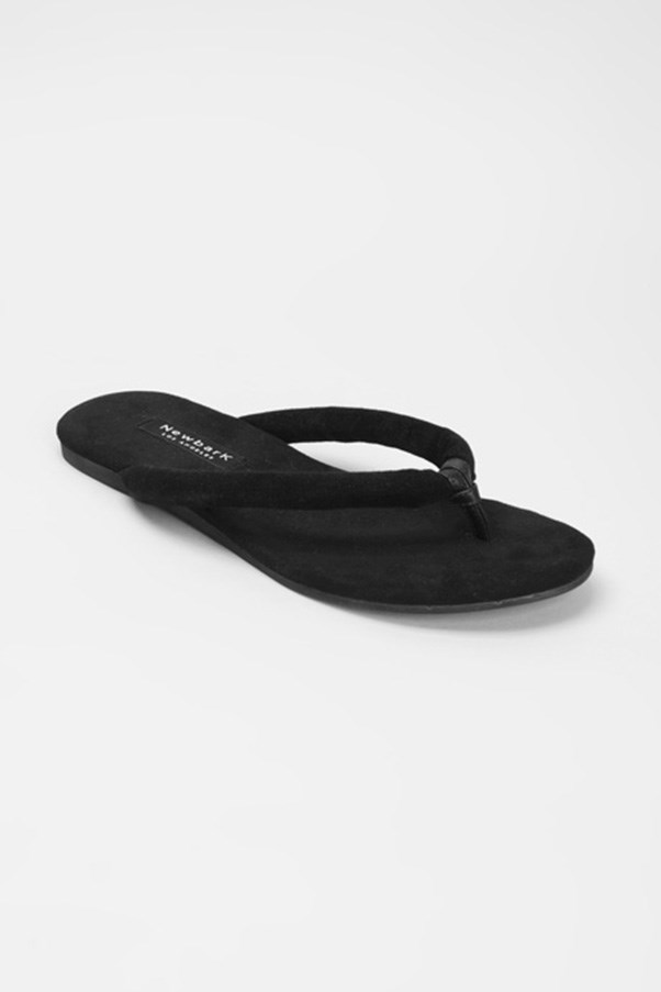 """<strong>Wear-to-death sandals</strong><br><br> The new-season update: If Alexander Wang, Valentino and Mary-Kate and Ashley Olsen are to be believed (and they are), the 'fashion flip flop' is on its way back. Cargo pants are optional. <br><br> Buy: Sandals by Newbark, $230, <a href=""""https://www.mychameleon.com.au/puffy-flora-sandal-p-4798.html?typemf=women"""">My Chameleon</a>"""