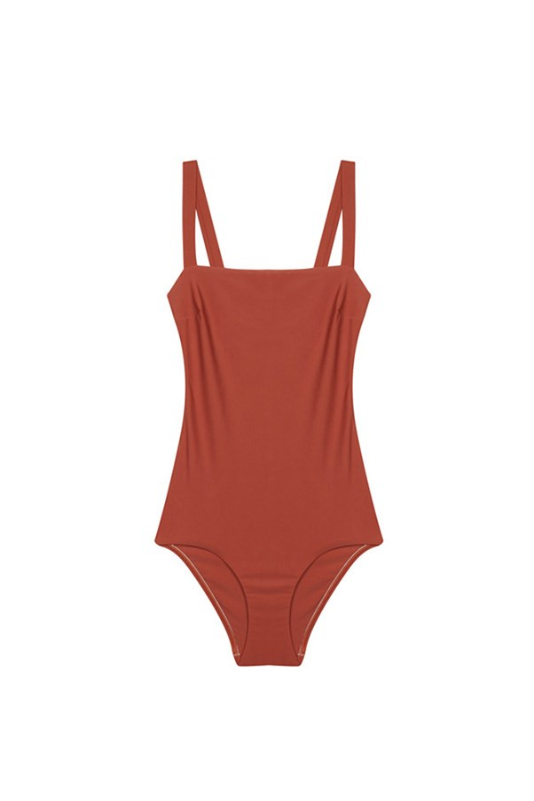 """<strong>Swimmers/bathers/togs</strong><br><br> The new season update: Swap your bikini for a one-piece and black for a fresh new colour like khaki or rust for something fresh.<br><br> Buy: One-piece in 'Amber' by Matteau Swim, $280, <a href=""""https://www.mychameleon.com.au/square-maillot-amber-p-4832.html?typemf=women"""">My Chameleon</a>"""