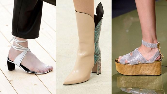 Best shoe trends spring 2017
