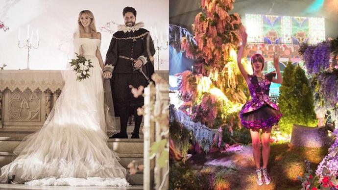 Inside the incredible, Halloween-themed wedding of Nieves Zuberbühler and Julio Mario Santo Domingo III.