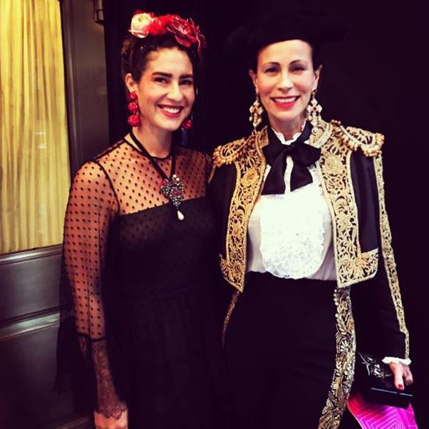 "<strong>Rebecca de Ravene and Andrea Dellal</strong><br><br> Instagram: <a href=""https://www.instagram.com/p/BMMcUs5AivR/?taken-by=andreadellal"">@andreadellal</a>"