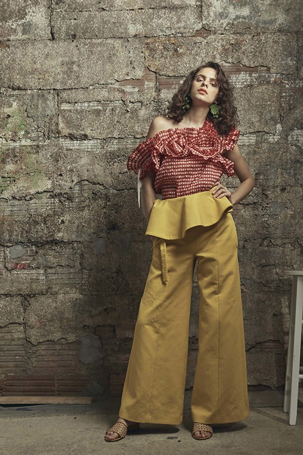 <strong>Wide-Legged Trousers</strong><br><br> Rosie Assoulin