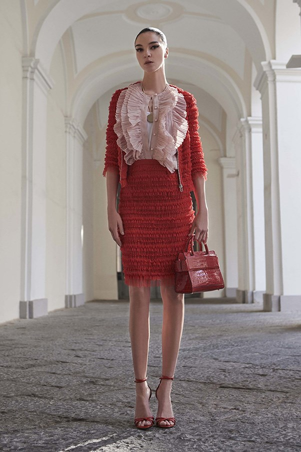 <strong>Textured Ruffles</strong><br><br> Givenchy