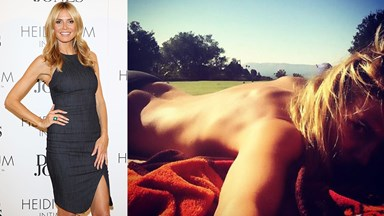 Heidi Klum Will Sunbathe Nude Until She's in Her '60s And We Think That's Pretty Cool