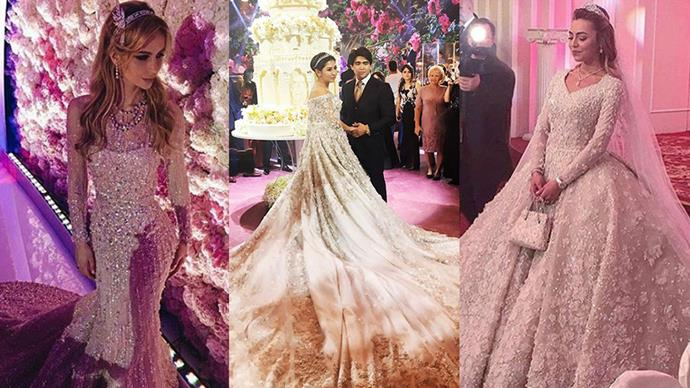 """There have now been three (three!) extravagant Russian billionaire weddings this year, and we're struggling to keep up. Especially seeing as they all seem to look so, damn similar. Here's a break down of what all three ceremonies had in common. <br><br><br> Images: Instagram (right <a href=""""https://www.instagram.com/p/BDiYO0LM2_p/"""">@svadby_miira_lux</a>)"""