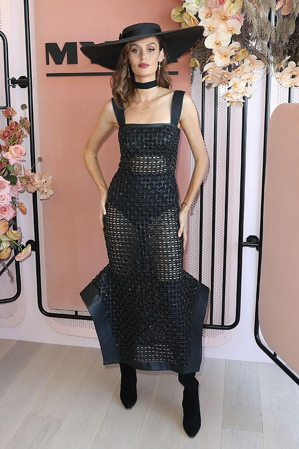 """<strong>Nicole Trunfio, Derby Day</strong> <br><br> <em>""""I mean, anyone who channels their inner Beyonce trackside gets my vote (and with the right amount of reveal, too).""""</em> — Pete Harrison, group commercial category manager"""