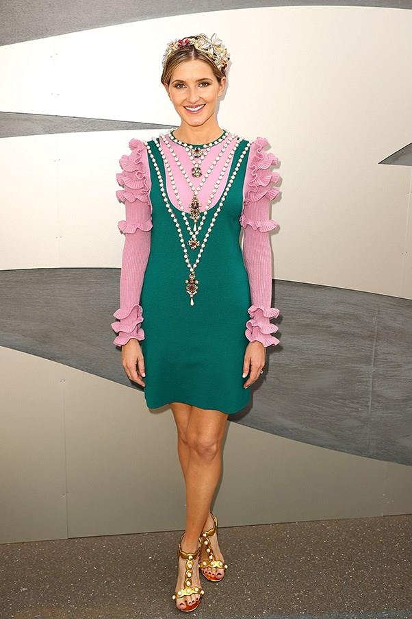 """<strong>Kate Waterhouse, Melbourne Cup</strong> <br><br> <em>""""This Gucci ensemble was one of my favourite runway looks.""""</em> — Caroline Tran, Market Editor"""