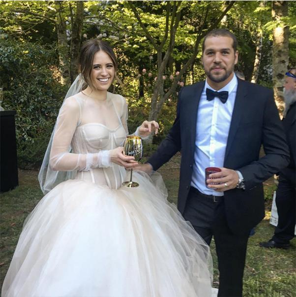 "The Happy Couple <br><br> <a href=""https://www.instagram.com/p/BMaEoDCAPrn/"">@akssydney</a>"