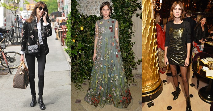 To celebrate Alexa Chung's birthday we reflect on the 33 outfits that only she could pull off.