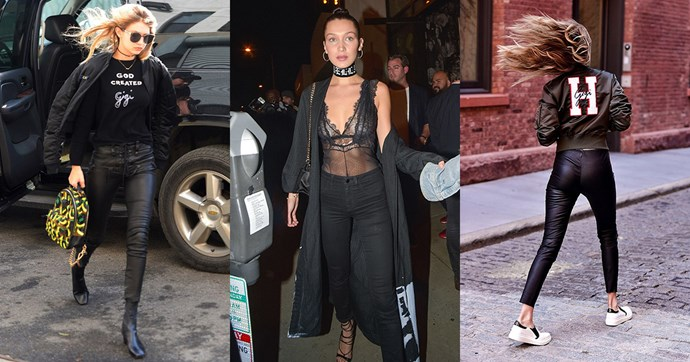 We're calling it, Gigi Hadid is the queen of monogrammed style. She wears her heart (and name) on her sleeve like no other, making a selfie jacket and name necklace an accessory staple. Here, the best of her personalised style.