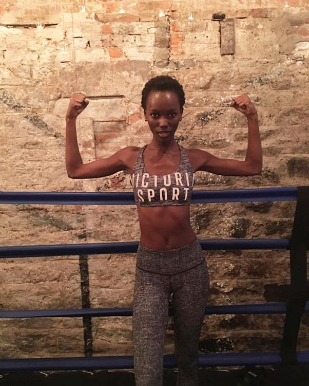 """Henrieth Paul <br><BR> Another VS model that swears by boxing. Get us in the ring! <Br><bR> Instagram: <a href=""""https://www.instagram.com/heriethpaul/"""">@heriethpaul</a>"""