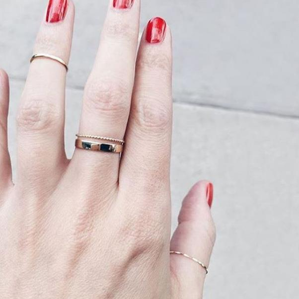 """<strong>Who:</strong> Catbird <br><br> <strong>Why:</strong> This Brooklyn-based jewellery label has already garnered an impressive A-list fan base, including Emma Watson, who applauds the brand's use of recycled and fair trade gold. <br><br> <strong>Buy:</strong> 'The Snow Queen' ring, $1296, <a href=""""https://www.catbirdnyc.com/jewelry/rings/snow-queen-ring.html"""">Catbird</a> <br><Br> <strong>Image:</strong> <a href=""""https://www.instagram.com/catbirdnyc/"""">@catbirdnyc</a>"""