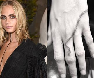 Cara Delevingne New Tattoo