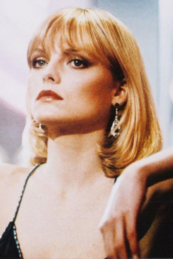 <strong>1. The Muse</strong><br><br> The ultimate bad-girl style and beauty icon: Michelle Pfeiffer as Elvira Hancock in the 1983 film <em>Scarface</em>. Her haircut is iconic: a sleek bob with bangs and flipped ends.