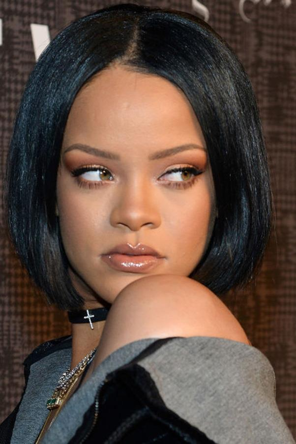 <strong>2. '90s Bob</strong><br><br> Rolled ends are the hair equivalent of slip dresses and chokers: overtly sexy in a throwback kind of way. Rihanna wore all three at once earlier this year to really drive home the point.