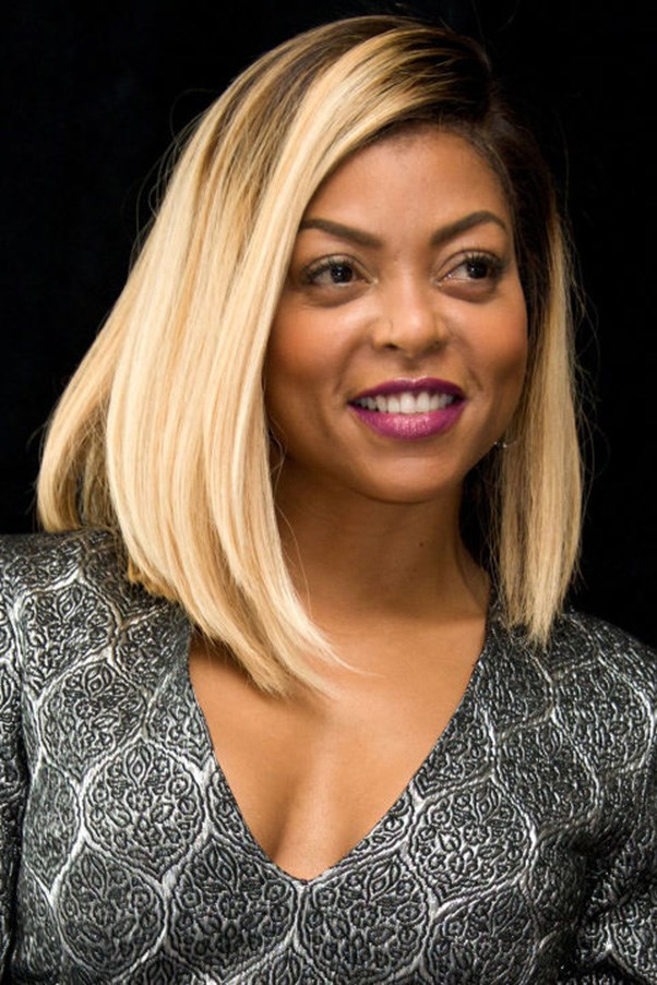 <strong>6. Subtle Curve</strong><br><br> The curve in your hair doesn't have to be dramatic, as evidenced by Taraji P. Henson. Just a slight bend toward the ends will make your hair look done.