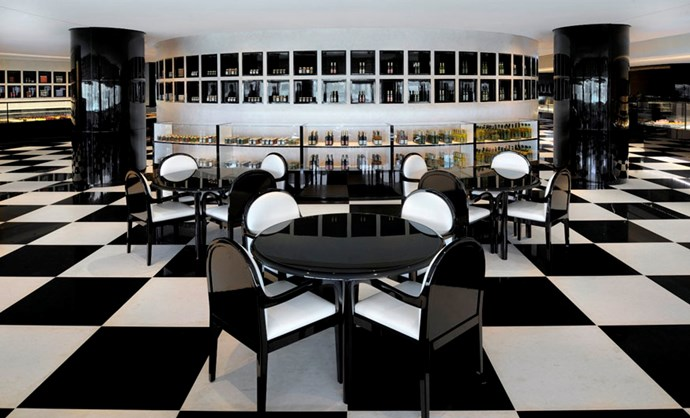 "It may shock you, but this incredible space is the hotel's deli. <br><br> Image: <a href=""http://www.armanihoteldubai.com/"">Armani Hotel Dubai</a>"