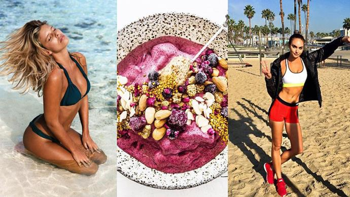 Let these Instagram sensations give you the extra motivation you need to get a beach body in time for summer.