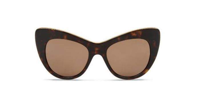 "Stella McCartney sunglasses, $390 from <a href=""http://www.stellamccartney.com/au/stella-mccartney/eyewear_cod95000569mh.html"">Stella McCartney</a>."