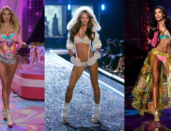 Australian models Victoria's Secret Fashion Show