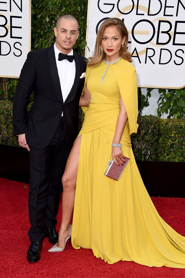 """<strong>Jennifer Lopez and Casper Smart</strong> <br><br> The couple reportedly called it quits for good in August after dating on and off since 2011. Smart, who was a backup dancer for Lopez, was 18 years younger than the singer. While neither released a statement regarding their breakup, a source told People, """"it wasn't anything dramatic and they were on good terms."""""""