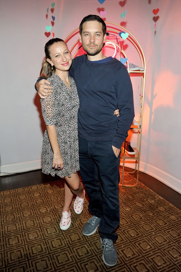 <strong>Toby Maguire and Jennifer Meyer</strong> <br><br> After nine years of marriage, the actor and jewellery designer announced their divorce. The couple's split was reportedly amicable and they announced their priority would be co-parenting their two children, daughter Ruby, 9, and son Otis, 7.