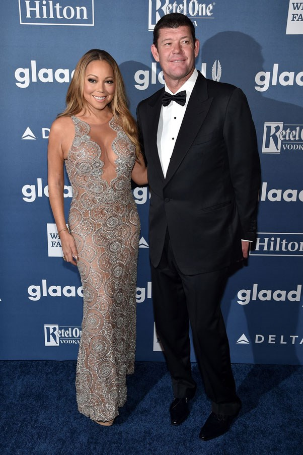 """<strong>James Packer and Mariah Carey</strong> <br><br> Following an engagement (and a casual 35 carat diamond ring) in January, Carey and Packer split last month. The not-so-amicable breakup has since resulted in Carey reportedly demanding a $50 million """"inconvenience fee"""" from Packer. The Australian billionaire was the one who apparently called off the engagement after arguments about Carey's upcoming reality show and """"extravagant spending."""" No word yet on that $50 million fee yet though..."""