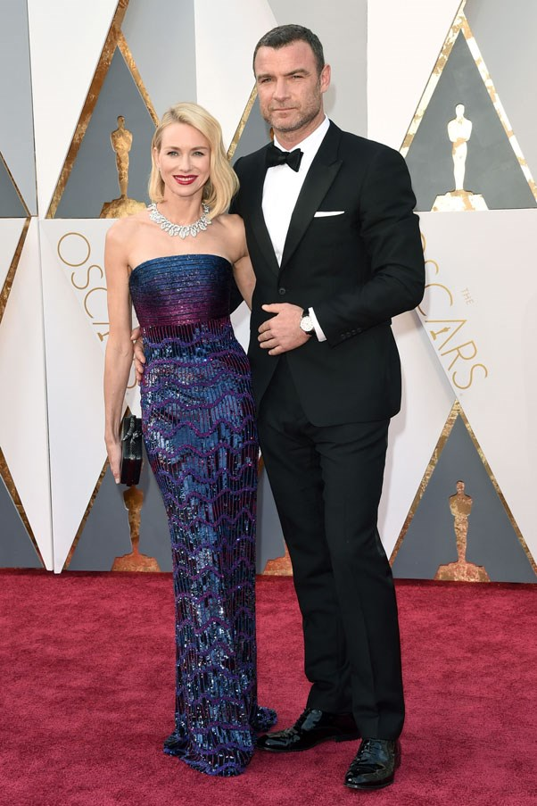 """<strong>Naomi Watts and Liev Schreiber</strong> <br><br> After 11 years together, the Hollywood couple announced they decided to separate. A joint statement read, """"Over the past few months we've come to the conclusion that the best way forward for us as a family is to separate as a couple. It is with great love, respect, and friendship in our hearts that we look forward to raising our children together and exploring this new phase of our relationship."""" Watts and Schreiber never married but share two children: Alexander, 9, and Samuel, 7."""