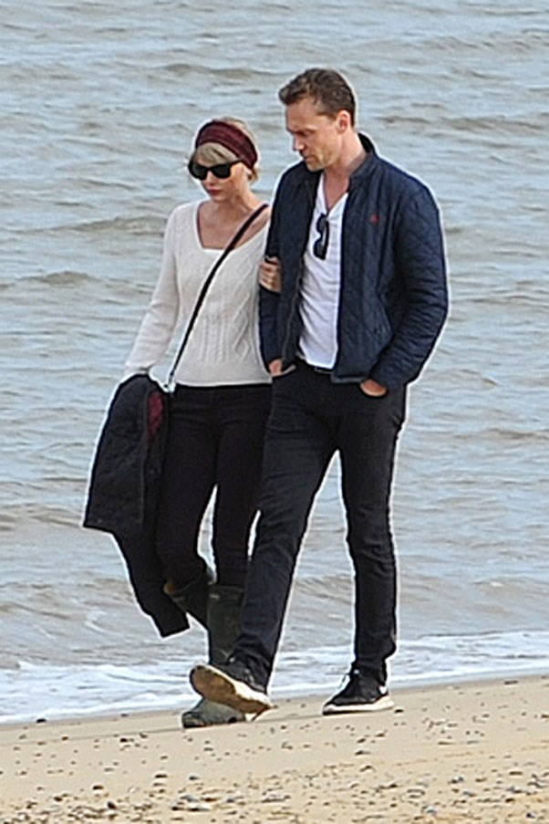 """<strong>Taylor Swift and Tom Hiddleston</strong> <br><br> Which leads us to Swift's second big breakup of the year: Tom Hiddleston. After a dance-off at the Met Gala in May, the two began dating in June, just weeks after Swift's split with Harris. The summer fling turned into a very public (and global) display of affection with the couple spotted in Rhode Island, Nashville, Australia, Italy and the UK (where Swift met Hiddleston's family). But after three short months of """"Hiddleswift"""" (and let's not forget Hiddleston wearing an """"I Heart TS"""" tank top), the couple broke up quietly."""