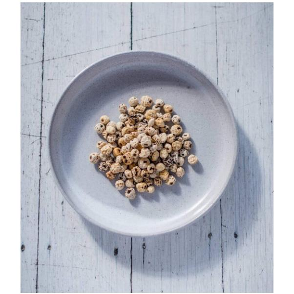 """<strong>Tiger Nuts</strong> <br><br> For this superfood, the name is deceiving. Tiger nuts are not actually nuts, but are instead a tuber (or underground root bulb) that is used as a milk alternative in Spain. In Australia, they're going to be the new go-to snack food in 2017. <br><br> Image: <a href=""""https://www.instagram.com/p/BNOVm2xALWG/"""">@terrafirmafoods_</a>"""